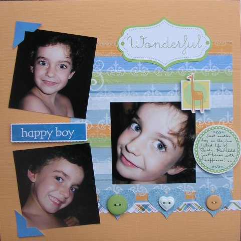 Happy Boy - small